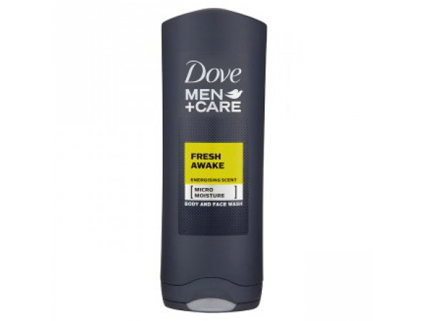 "Dove Гель для душа ""Men+Care Fresh awake"", 400 мл"