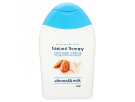 "Tesco Гель для душа ""Natural therapy almond & milk"" со сливками, 250 мл"