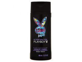 "Playboy Гель для душа ""No Sleep New York 2в1"", 400 мл"
