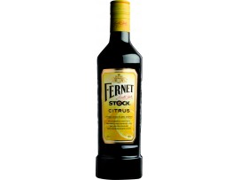 Fernet Stock Citrus травяной ликер c лимоном 0,5 л