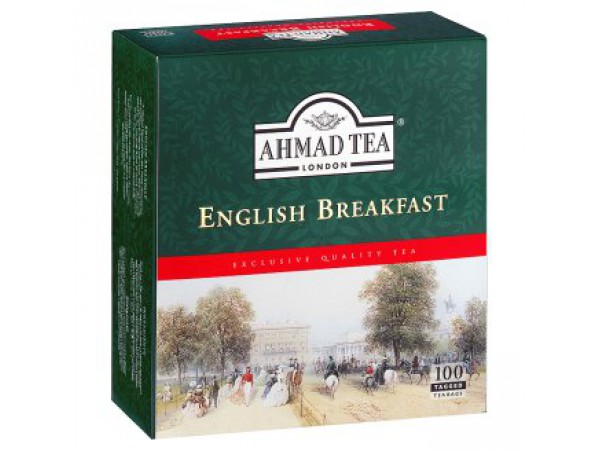 Ahmad Tea English breakfast черный чай 100 х 2 г