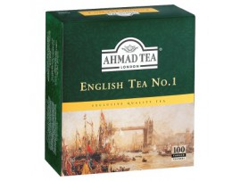 Ahmad Tea English tea no. 1 черный чай 100 х 2 г