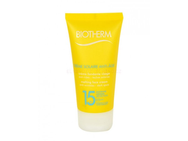Biotherm Creme Solaire Anti-Age Face Cream SPF15 крем для лица от загара 50 мл