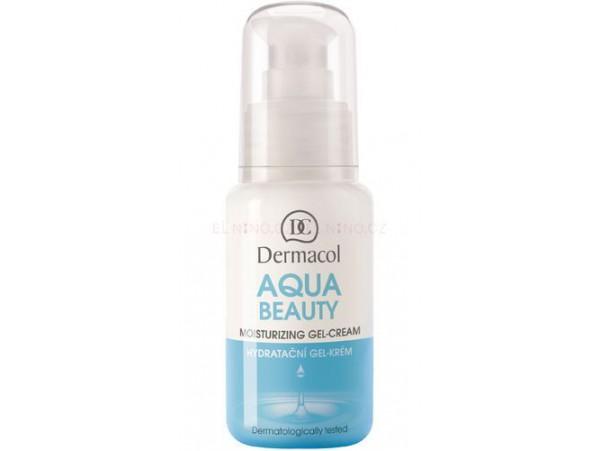Dermacol Aqua Beauty Moisturizing Gel-Cream увлажняющий гель-крем 50 мл