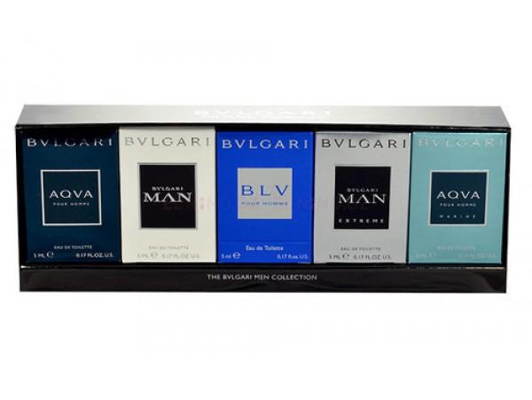 Bvlgari mini set 5 х 5 мл