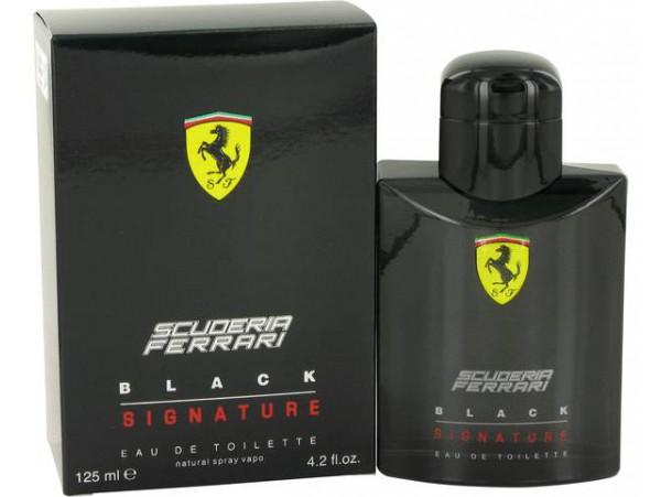 Ferrari Black Signature 125 мл